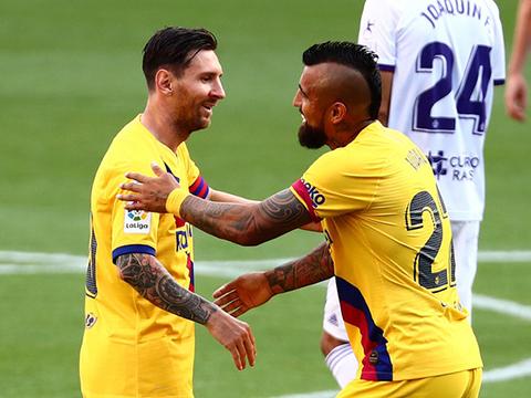 Valladolid 0-1 Barcelona: Barca níu kéo hy vọng, cầu mong Real Madrid sẩy chân