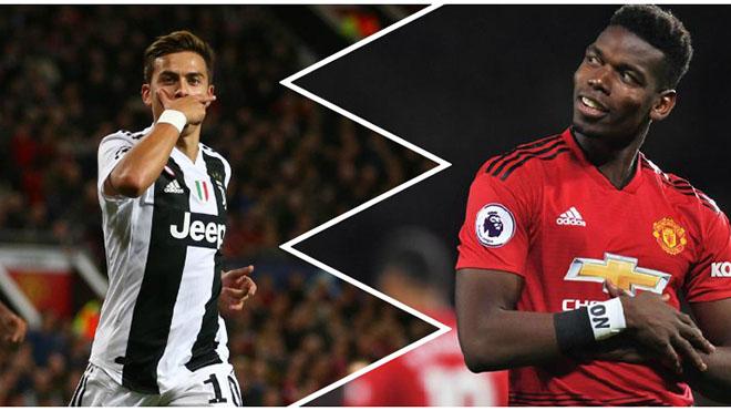Juventus đề nghị MU đổi Pogba lấy Dybala