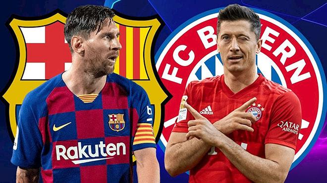 Barcelona 2-8 Bayern Munich: Thi đấu bạc nhược, Barca nhận thất bại muối mặt trước Bayern