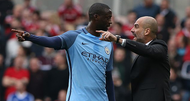 Man City bị loại khỏi Cúp C1, Yaya Toure chỉ trích Pep Guardiola, Lyon Man City, Cúp C1, Man City, Champions League, Lyon, Pep Guardiola, chung kết cúp C1, PSG vs Bayern