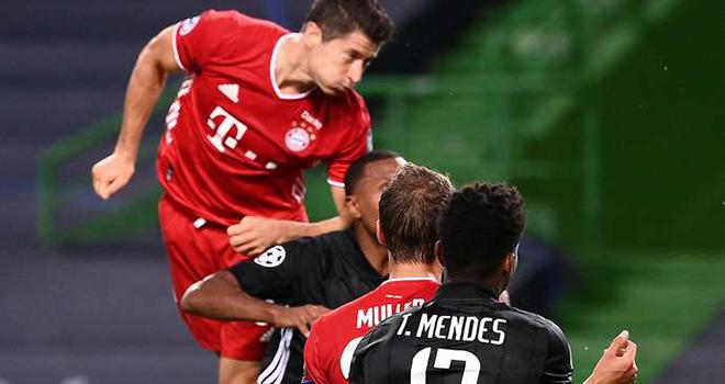 Kqbd, Lyon 0-3 Bayern, Lewandowski là tiền đạo cắm tốt nhất thế giới, Lewandowski, Robert Lewandowski, kết quả Cúp c1, kết quả Champions League, Bayern vào chung kết C1