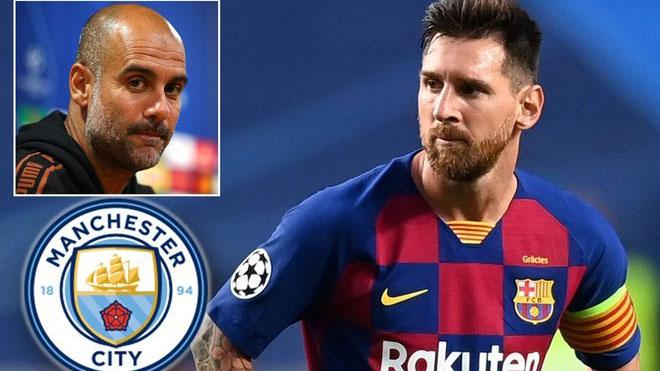 Man City chuẩn bị đạt thỏa thuận kép với Messi và Guardiola