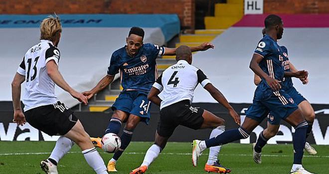 Ket qua bong da, Fulham 0-3 Arsenal, Kết quả bóng đá Anh vòng 1, Kết quả Arsenal, Kết quả bóng đá trực tuyến Arsenal đấu với Fulham, bảng xếp hạng bóng đá Anh