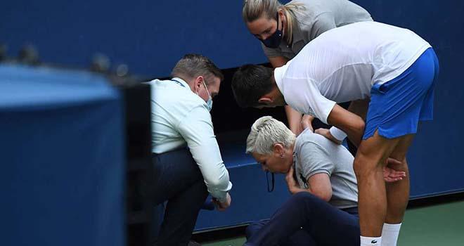Djokovic, Djokovic bị loại khỏi US Open, Djokovic đánh bóng trúng nữ trọng tài, Djokovic hành động phi thể thao, Mỹ mở rộng, Djokovic vs Busta, Djokovic bị loại