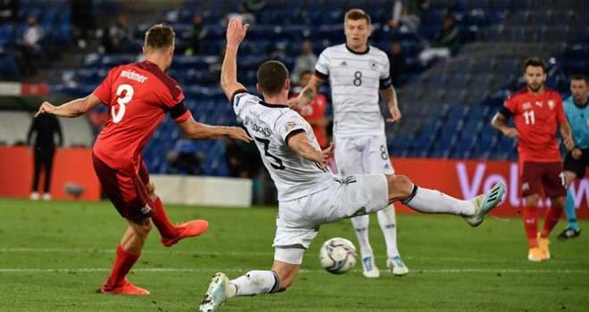 Ket qua bong da, Thụy Sĩ 1-1 Đức, Kết quả Nations League, kết quả bóng đá hôm nay, Đức đấu với Thụy Sĩ, Tây Ban Nha 4-0 Ukraine, tin tức bóng đá, kqbd đêm qua