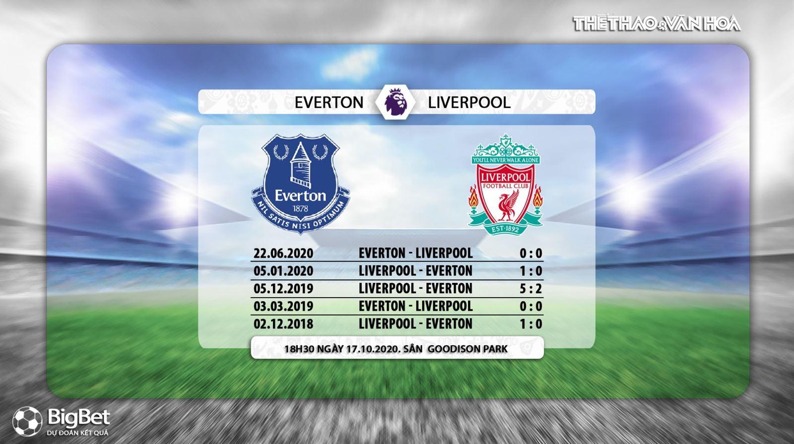 Keo nha cai, Everton vs Liverpool, Vòng 5 Giải ngoại hạng Anh, Trực tiếp K+ PM, Trực tiếp bóng đá, Trực tiếp Everton đấu với Liverpool, Kèo bóng đá Liverpool vs Everton