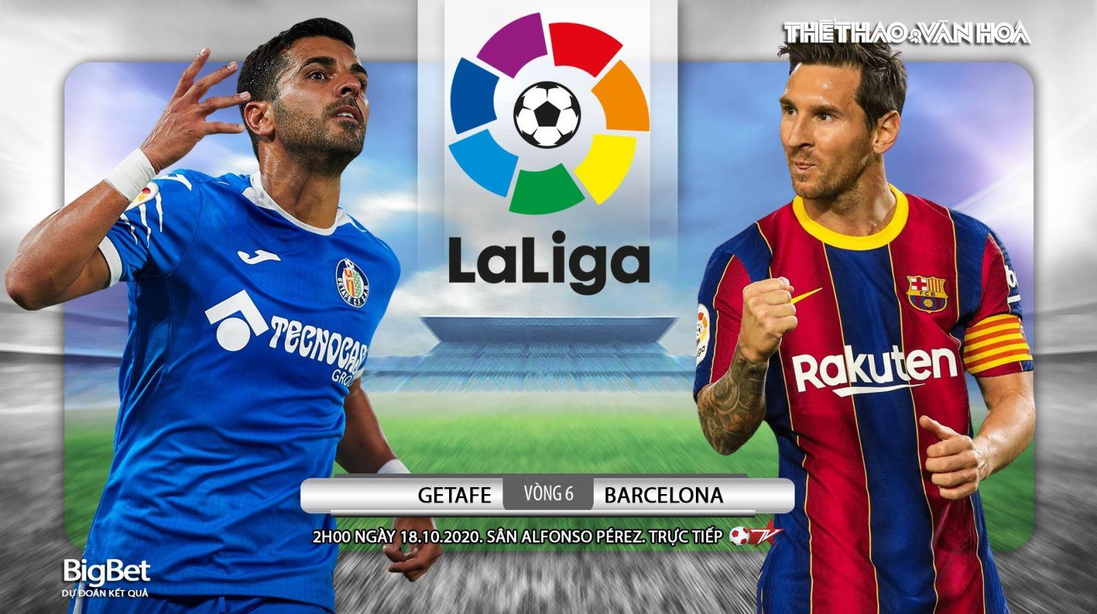 Soi kèo nhà cái Getafe vs Barcelona. Vòng 6 La Liga. Trực tiếp BĐTV