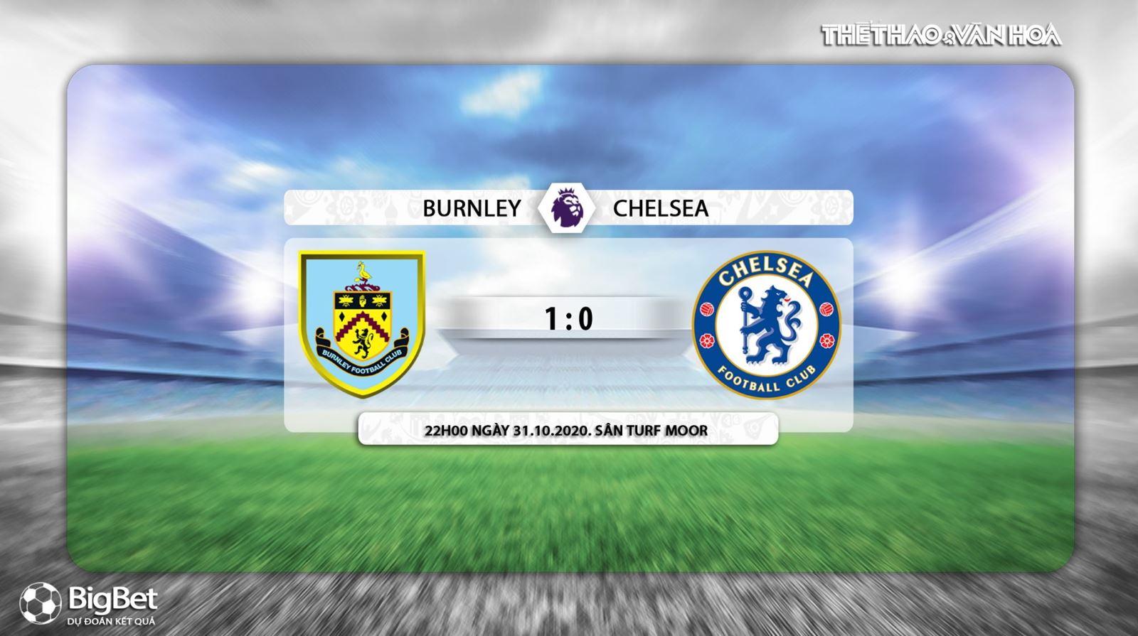 Keo nha cai, kèo nhà cái, Burnley vs Chelsea, K+PM, Truc tiep bong da, Ngoại hạng Anh vòng 7, trực tiếp bóng đá Anh, soi kèo bóng đá, trực tiếp Chelsea, kèo Chelsea