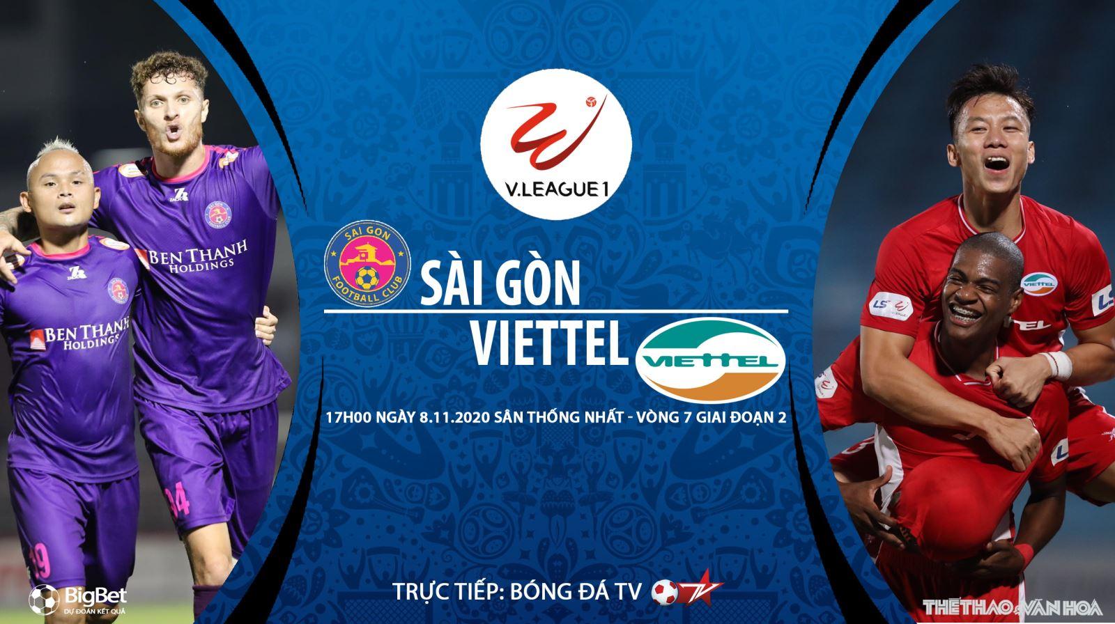 Soi kèo nhà cái Sài Gòn vs Viettel. Trực tiếp bóng đá Việt Nam