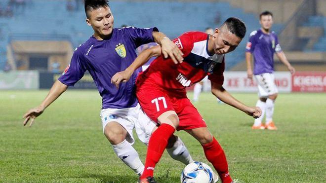 Trực tiếp Than Quảng Ninh vs Hà Nội. Bóng đá Việt 2020. Trực tiếp VTV