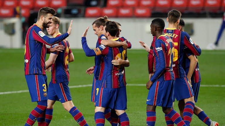 Barcelona 5-2 Betis: Đá 1 hiệp, Messi vẫn lập cú đúp, Griezmann tiếp tục gây thất vọng