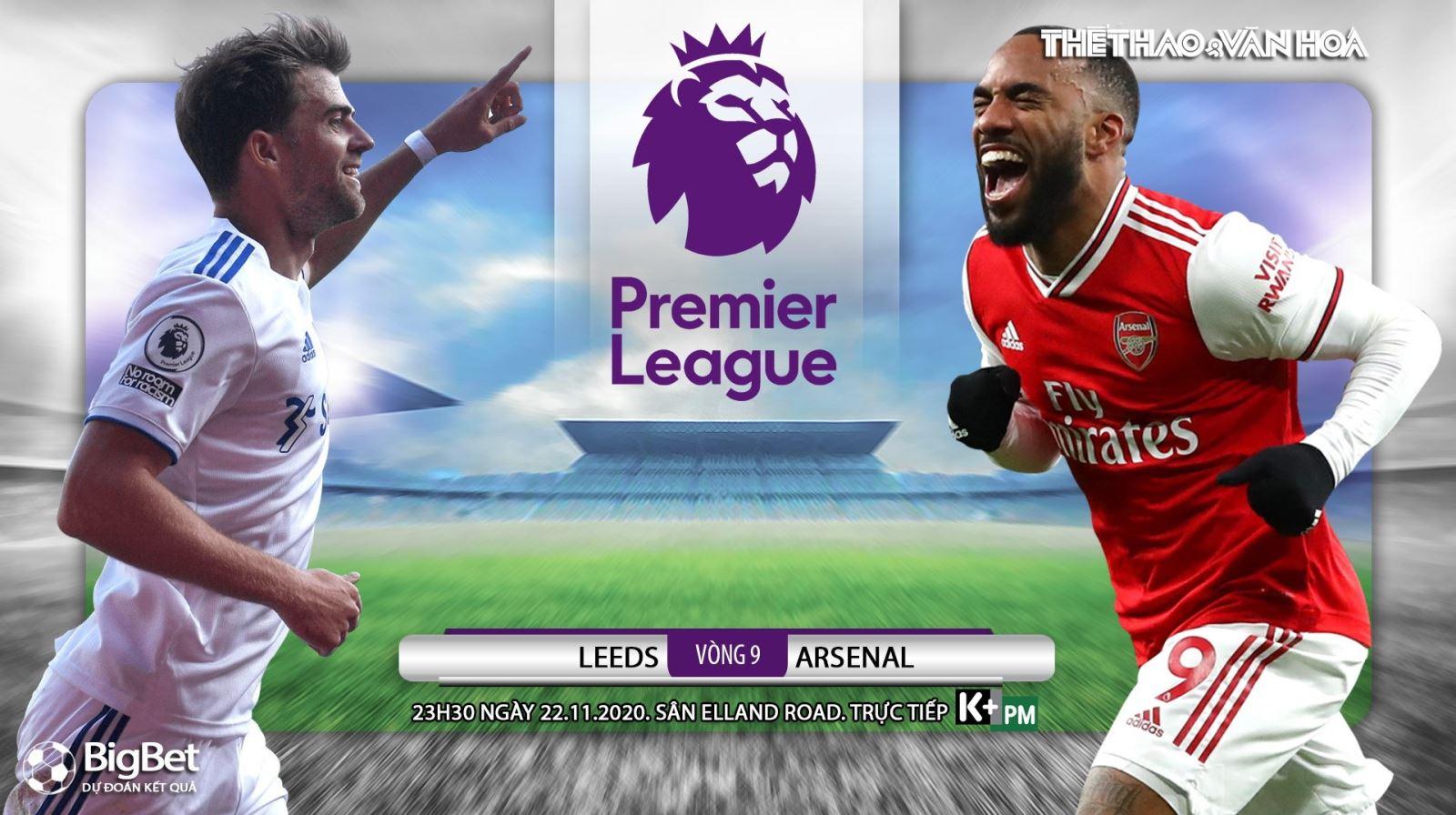 Soi kèonhà cái Leeds vs Arsenal. Vòng 9 Giải ngoại hạng Anh