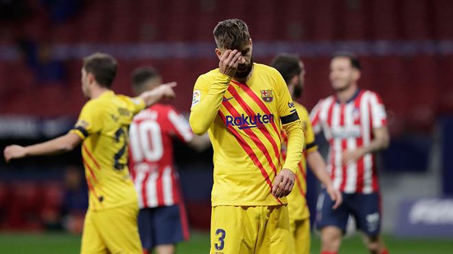 Barcelona đón hung tin khi Pique có thể phải nghỉ tới 6 tháng