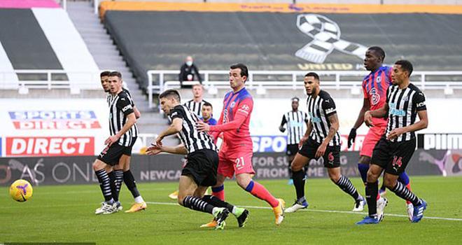 Newcastle 0-2 Chelsea. Video clip bàn thắng trận Newcastle vs Chelsea. Chelsea