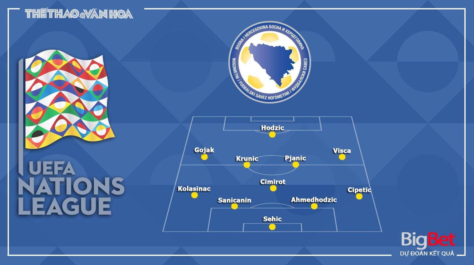 Keo nha cai, Kèo nhà cái, Bosnia vs Italy, Trực tiếp bóng đá Nations League, Soi kèo Bosnia vs Italy, Vòng bảng UEFA Nations League, Trực tiếp K+NS, BĐTV HD