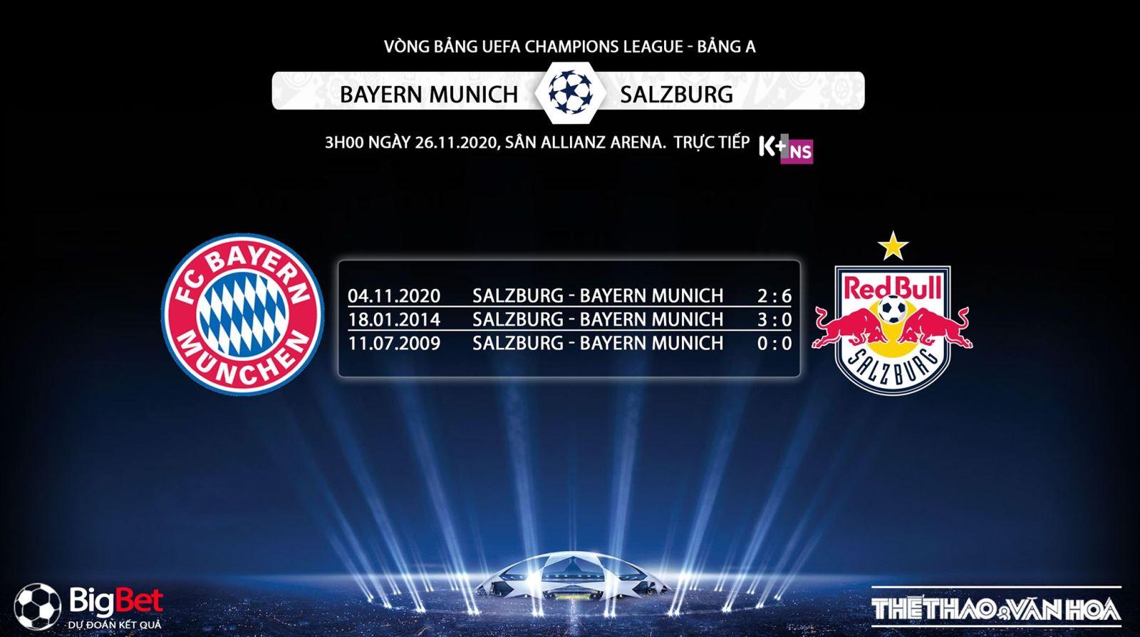 Keo nha cai, Kèo nhà cái, Bayern Munich vs Salzburg, Truc tiep bong da, Cúp C1 châu Âu, Trực tiếp bóng đá hôm nay, trực tiếp Bayern Munich vs Salzburg, tin bong da