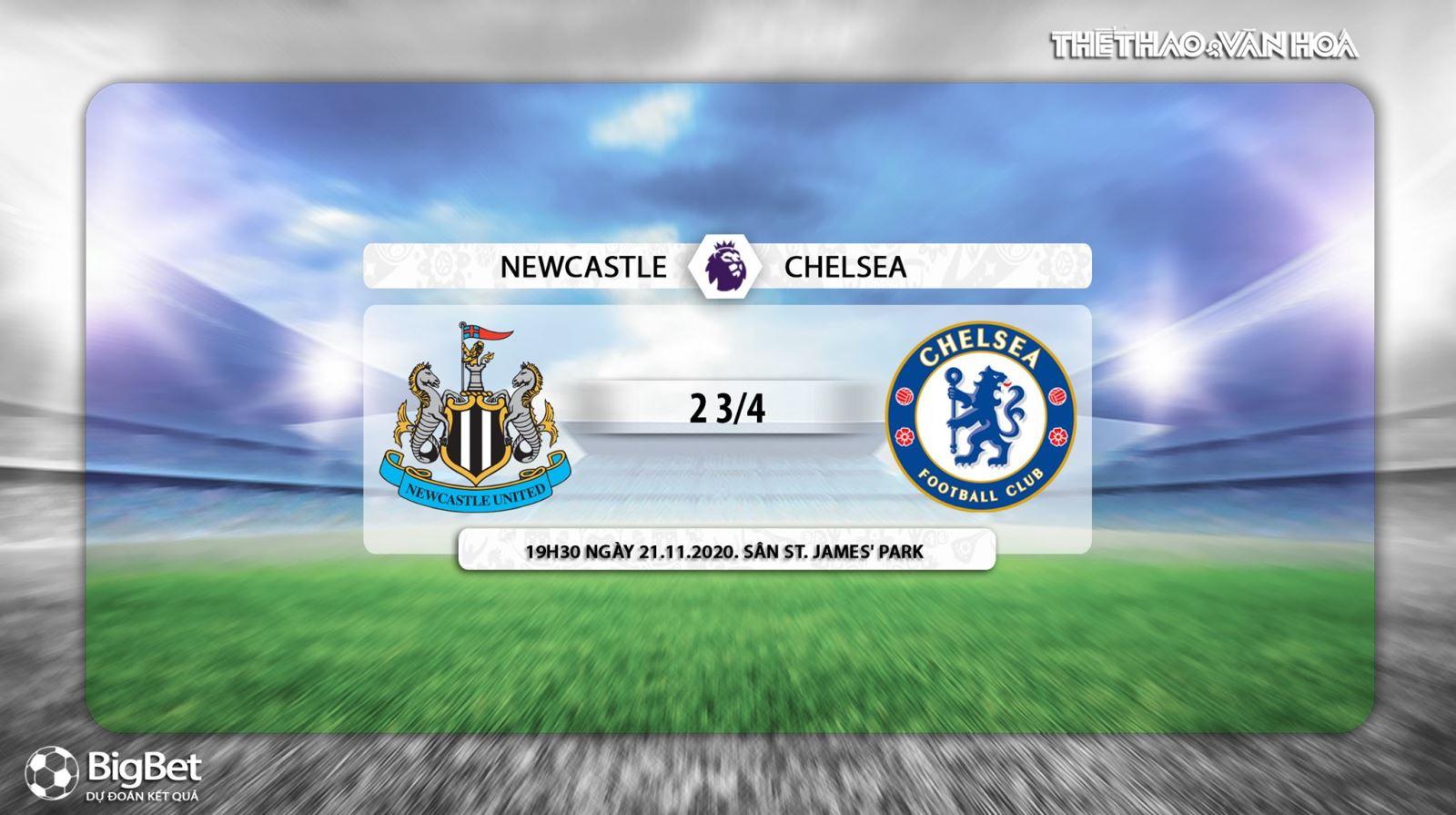 Keo nha cai, Kèo nhà cái, Newcastle vs Chelsea, Trực tiếp bóng đá, Ngoại hạng Anh, K+, Xem K+PM, Vòng 9 Giải ngoại hạng Anh, Trực tiếp Newcastle đấu với Chelsea