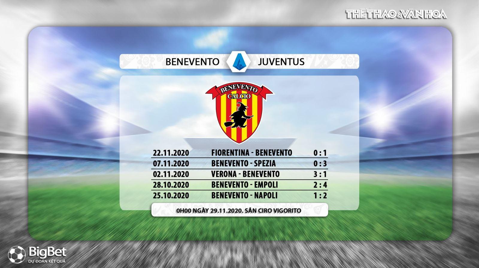 Keo nha cai, kèo nhà cái, Benevento vs Juventus, Vòng 9 Serie A, Trực tiếp FPT, Trực tiếp Serie A vòng 9, Soi kèo Juventus đấu với Benevento, Kèo Juventus, BXH Serie A