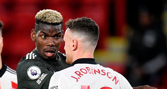 Ket qua bong da, Sheffield United vs MU, Paul Pogba, MU. Solskjaer ca ngợi Pogba, Kết quả Sheffield vs MU, Kết quả Ngoại hạng Anh, Bảng xếp hạng Ngoại hạng Anh, BXH Anh