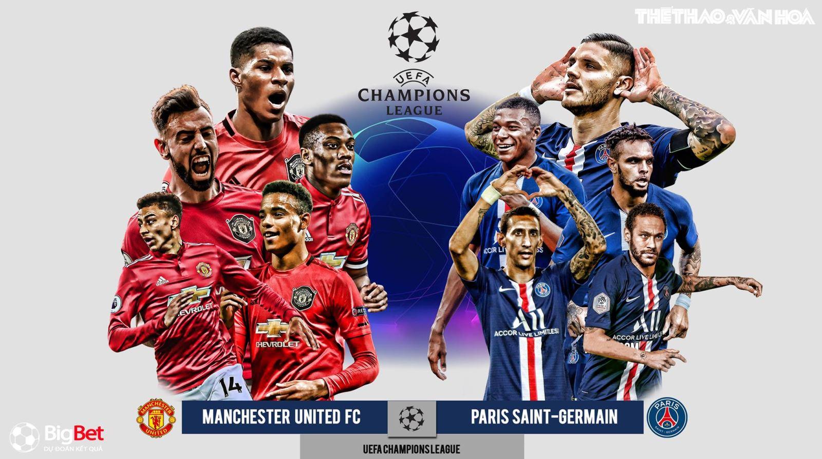 Soi kèo nhà cáiMU vs PSG. Vòng bảng Champions League