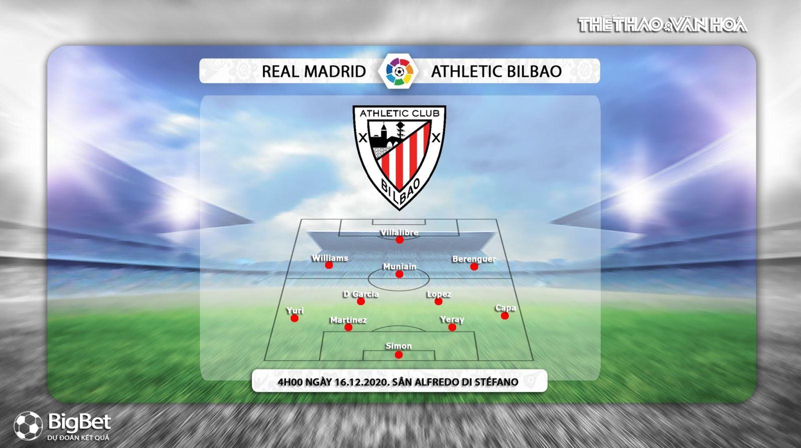 Keo nha cai, kèo nhà cái, Real Madrid vs Athletic Bilbao, Trực tiếp bóng đá Tây Ban Nha, trực tiếp vòng 14 La Liga, trực tiếp Real Madrid đấu với Bilbao, truc tiep Real