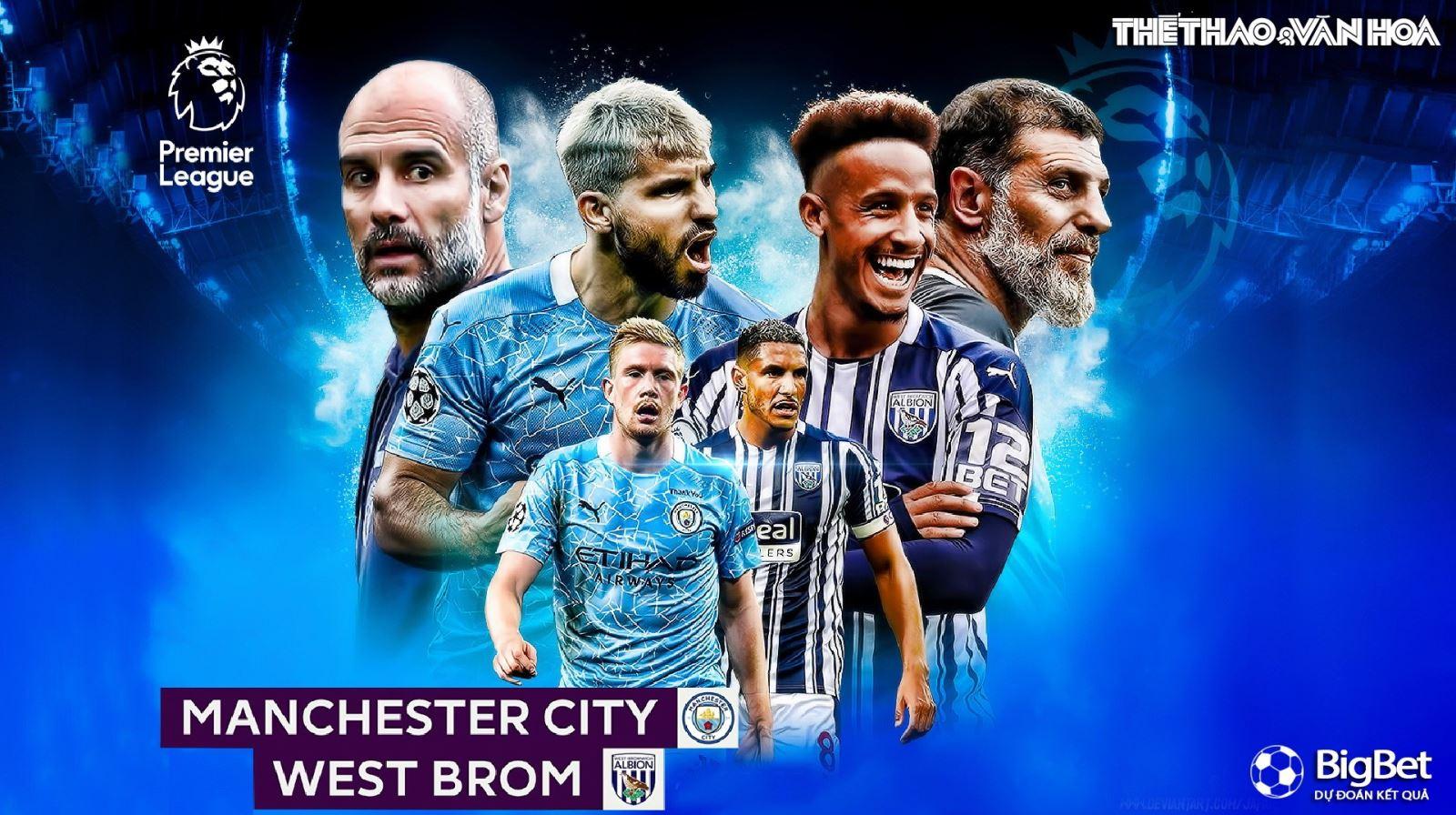 Soi kèo nhà cái Man City vs West Brom. Trực tiếp bóng đá vòng 13 Giải ngoại hạng Anh
