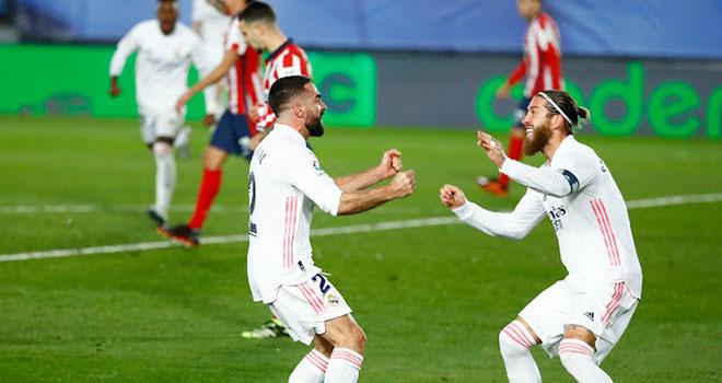 Ket qua bong da, Real Madrid vs Atletico, Kết quả La Liga, Bảng xếp hạng La Liga, Kết quả Real vs Atletico, Real Madrid đấu với Atletico, BXH La Liga, bóng đá Tây Ban Nha