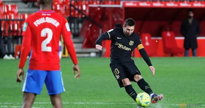 Barcelona, Granada 0-4 Barcelona, Kết quả La Liga, Messi, Griezmann, Kqbd, kết quả Granada vs Barcelona, Barcelona đấu với Granada, bảng xếp hạng La Liga, La Liga