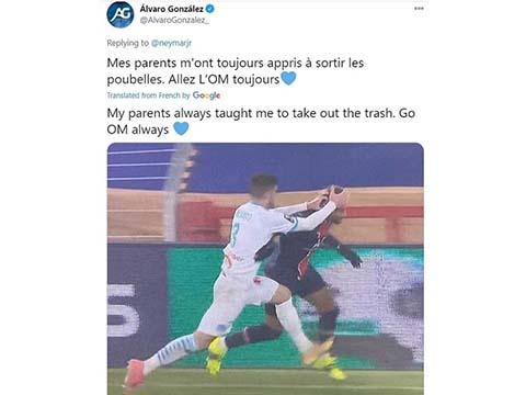 Neymar, PSG, PSG giành Siêu cúp Pháp, PSG vs Marseille, Neymar chế giễu đối thủ, Siêu cúp Pháp, kết quả Siêu Cúp Pháp, bóng đá Pháp, Alvaro Gonzalez, Kết quả bóng đá