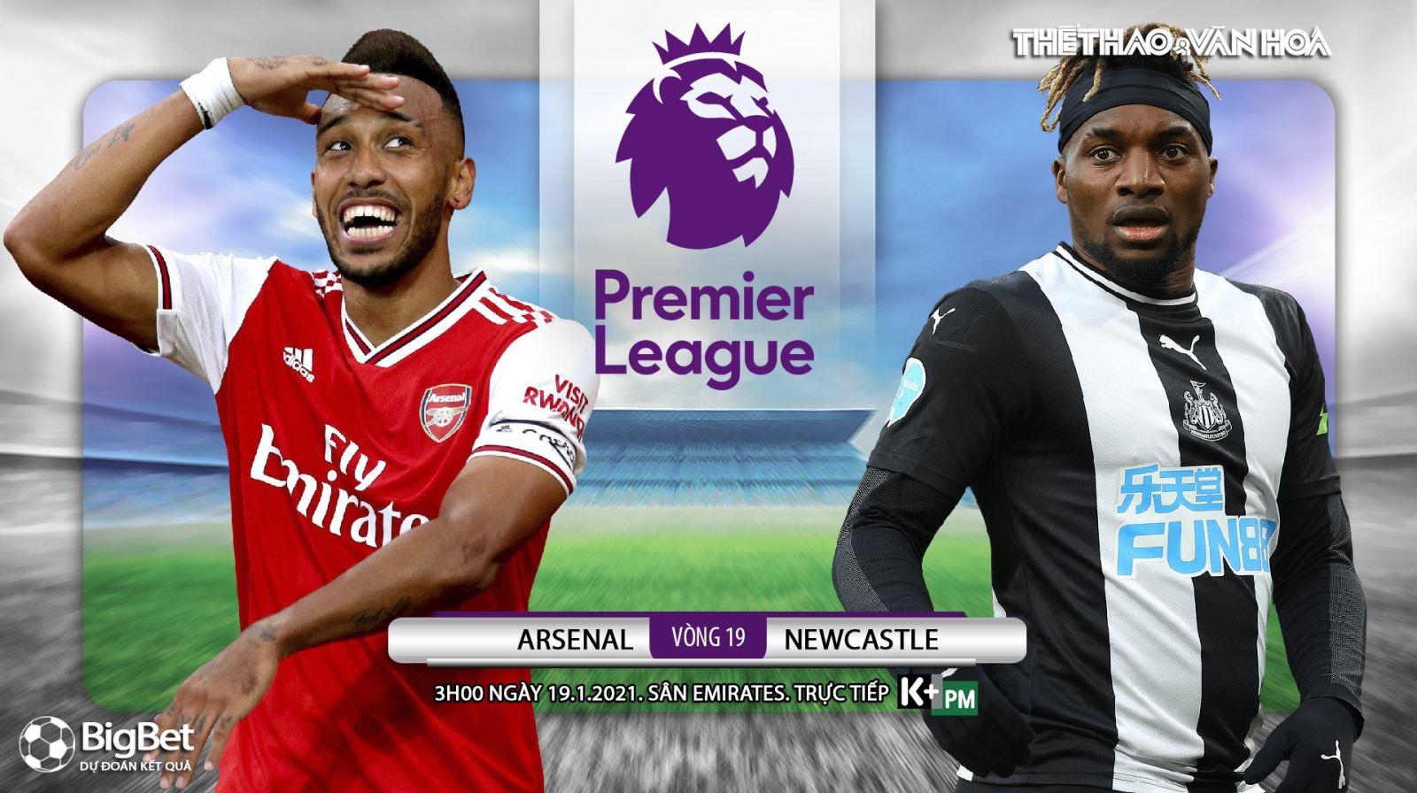 Soi kèo nhà cáiArsenal vs Newcastle. K+, K+PM trực tiếp bóng đá Anh