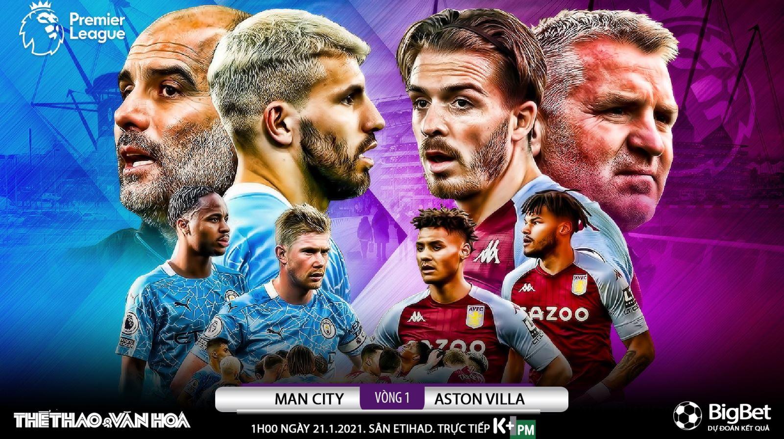 Soi kèo nhà cáiMan City vs Aston Villa. Đá bù vòng 1 giải Ngoại hạng Anh