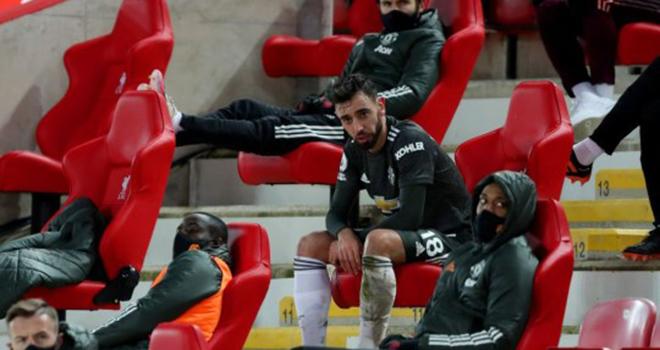 Kết quả Liverpool vs MU, Bruno Fernandes nổi nóng vì bị thay ra, Ole Solskjaer, video Liverpool vs MU, kết quả Ngoại hạng Anh, Bảng xếp hạng Ngoại hạng Anh, tin tức MU