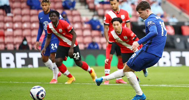 Kết quả bóng đá Anh, Southampton 1–1 Chelsea, Bảng xếp hạng Ngoại hạng Anh, video clip bàn thắng trận Chelsea đấu với Southampton, lịch thi đấu Ngoại hạng Anh vòng 25