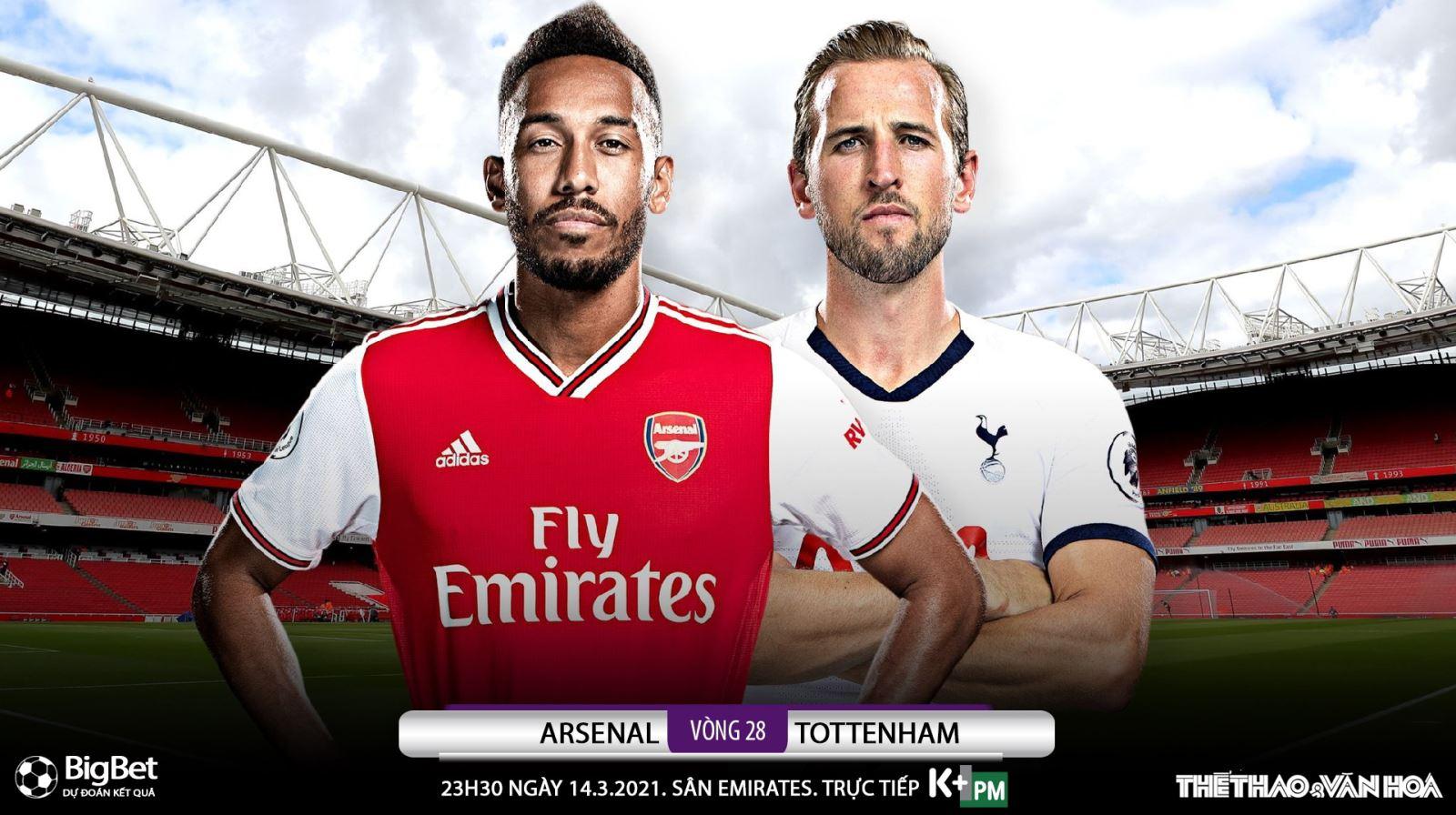 Soi kèo nhà cái Arsenal vs Tottenham. K+, K+PM trực tiếp bóng đá Ngoại hạng Anh
