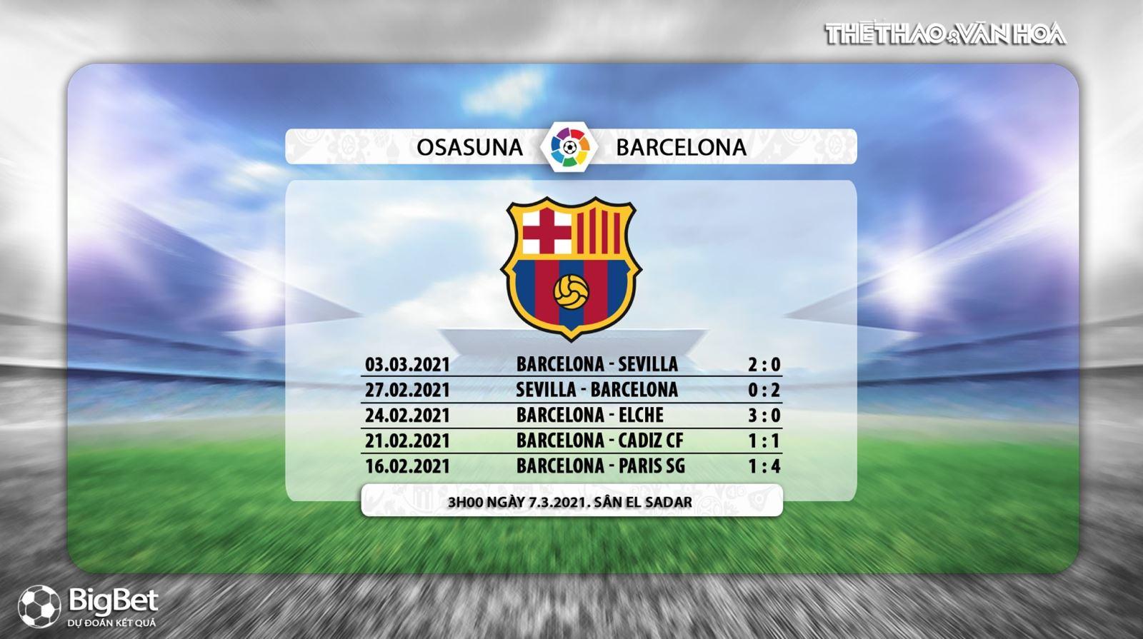 Keo nha cai, kèo nhà cái, Osasuna vs Barcelona, BĐTV trực tiếp bóng đá Tây Ban Nha, Barca, soi kèo Barcelona đấu với Osasuna, trực tiếp La Liga, bảng xếp hạng bóng đá TBN