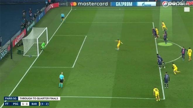 Messi nên được sút lại quả penalty trong trận hòa PSG