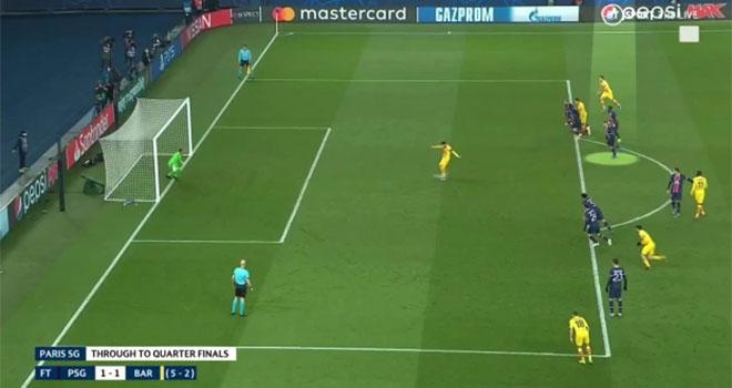 Messi, Barcelona, PSG vs Barcelona, Video PSG 1-1 Barcelona, Messi đá phạt đền, kết quả Cúp C1, Kết quả Champions League, kết quả PSG vs Barcelona, kết quả PSG vs Barca