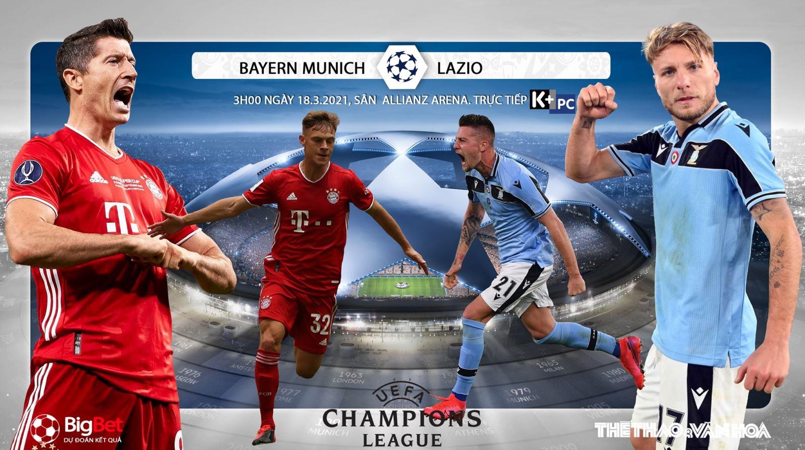Soi kèo nhà cáiBayern Munich vs Lazio. Lượt về vòng 1/8 Cúp C1
