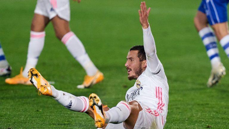 Real Madrid: Vừa trở lại đá 15 phút, Hazard chấn thương nghỉ luôn 6 tuần