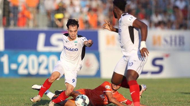 VTV6. Trực tiếp bóng đá hôm nay: Hà Tĩnh vs HAGL (18h00, 20/3)