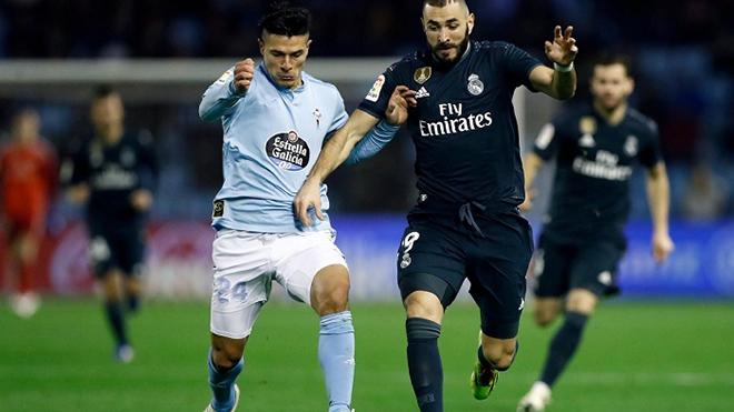 Trực tiếp bóng đá hôm nay: Celta Vigo vs Real Madrid (22h15, 20/3)