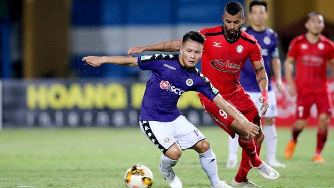 Trực tiếp bóng đá V-League: TPHCM vs Hà Nội (19h15 hôm nay)