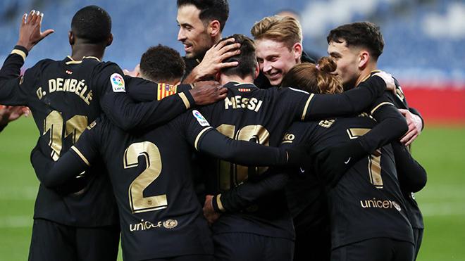 Real Sociedad 1-6 Barcelona: Messi lập cú đúp, Barca 'đánh tennis' ở xứ Basque