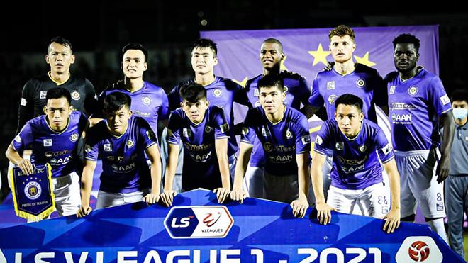 Trực tiếp bóng đá V-League 2021: Hà Nội vs Hà Tĩnh (19h15 hôm nay)