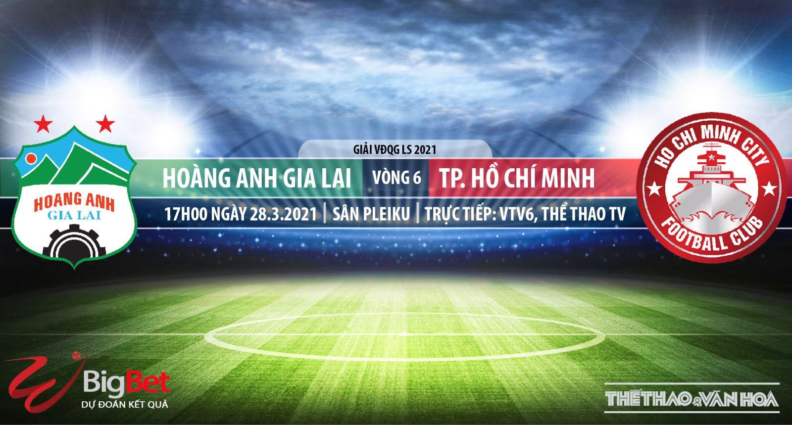 Soi kèo nhà cái HAGL vs TPHCM.VTV6 trực tiếp bóng đá LS V-League 2021
