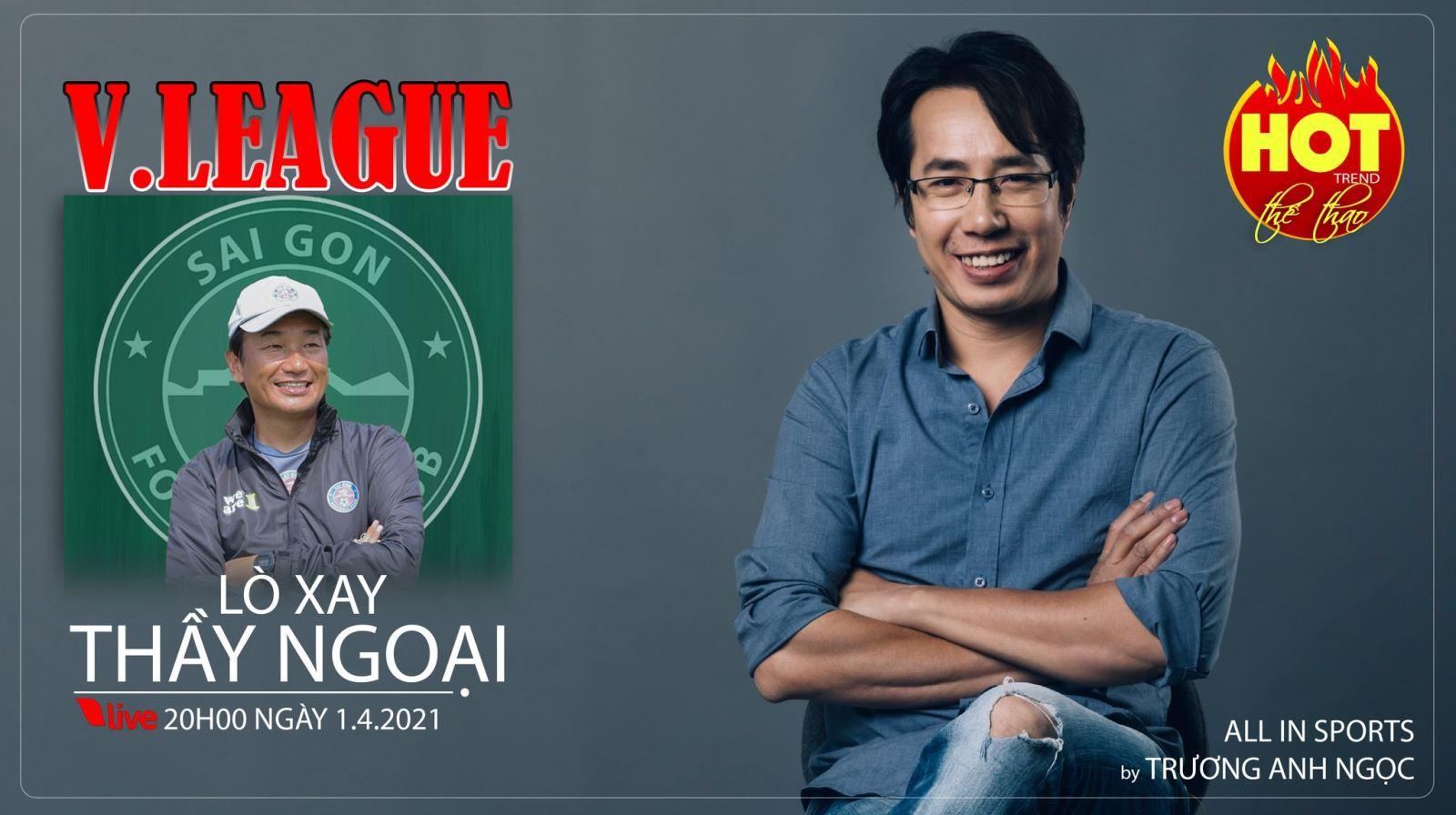 Giải bóng đá V-League: 'Lò xay' HLV nước ngoài