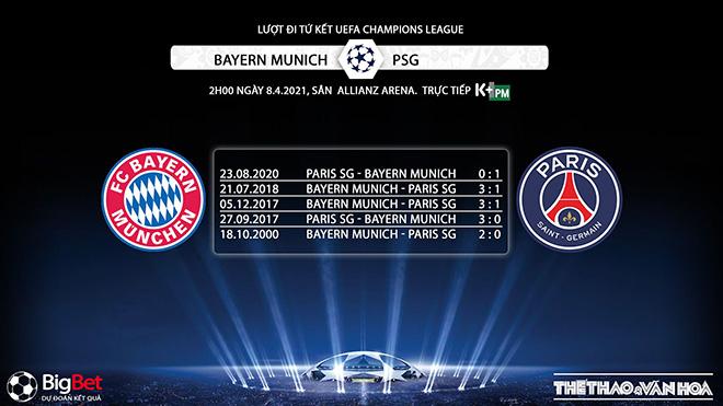 Keo nha cai, Kèo nhà cái, Bayern Munich vs PSG, Trực tiếp Tứ kết Cúp C1/Champions League, kèo Bayern Munich, kèo PSG, trực tiếp bóng đá cúp C1 hôm nay