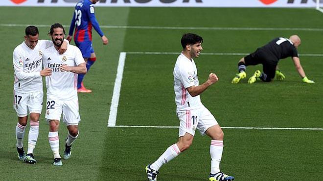 Real Madrid 2–0 Eibar: Hàng công tỏa sáng, Real chiếm vị trí thứ 2 của Barca