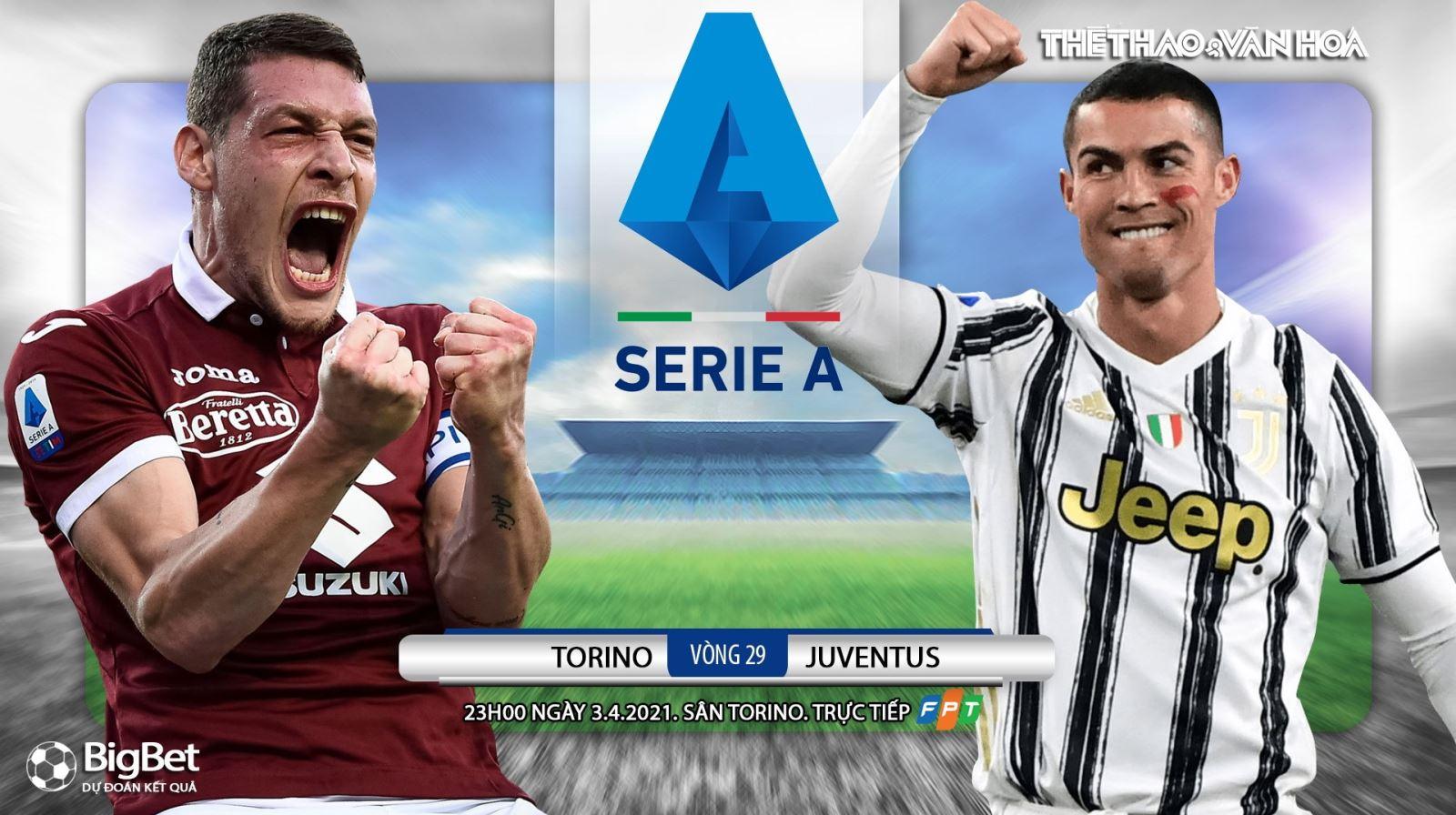 Soi kèo nhà cái Torino vs Juventus. FPT trực tiếp bóng đá Serie A