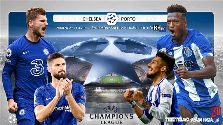 Soi kèo nhà cái Chelsea vs Porto. Lượt về tứ kết Cúp C1